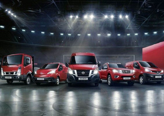 Gamme Utilitaires NISSAN